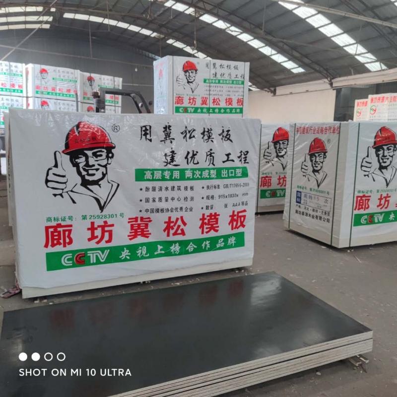 廊坊建筑模板生产厂家